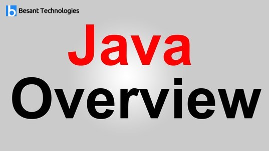 java overview edited